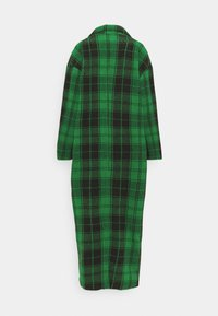 Missguided Tall - CHECKED OVERSIZED FORMAL COAT - Classic coat - green - 1