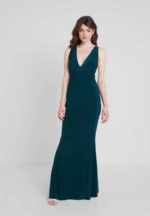 Společenské šaty - green