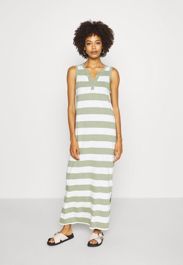 ZEN - Vestido largo - green