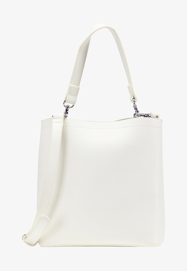 WHITE LABEL - Borsa a tracolla - white