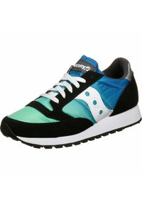 Saucony - SCHUHE JAZZ - Sneakers laag - black/blue/green