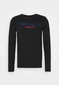 Teddy Smith - CLASS BASIC - T-shirt à manches longues - noir - 3