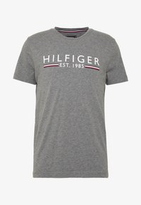 Tommy Hilfiger - TEE - T-shirt imprimé - grey - 3