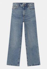 Lindex - TROUSERS LALEH - Bootcut jeans - blue denim - 0