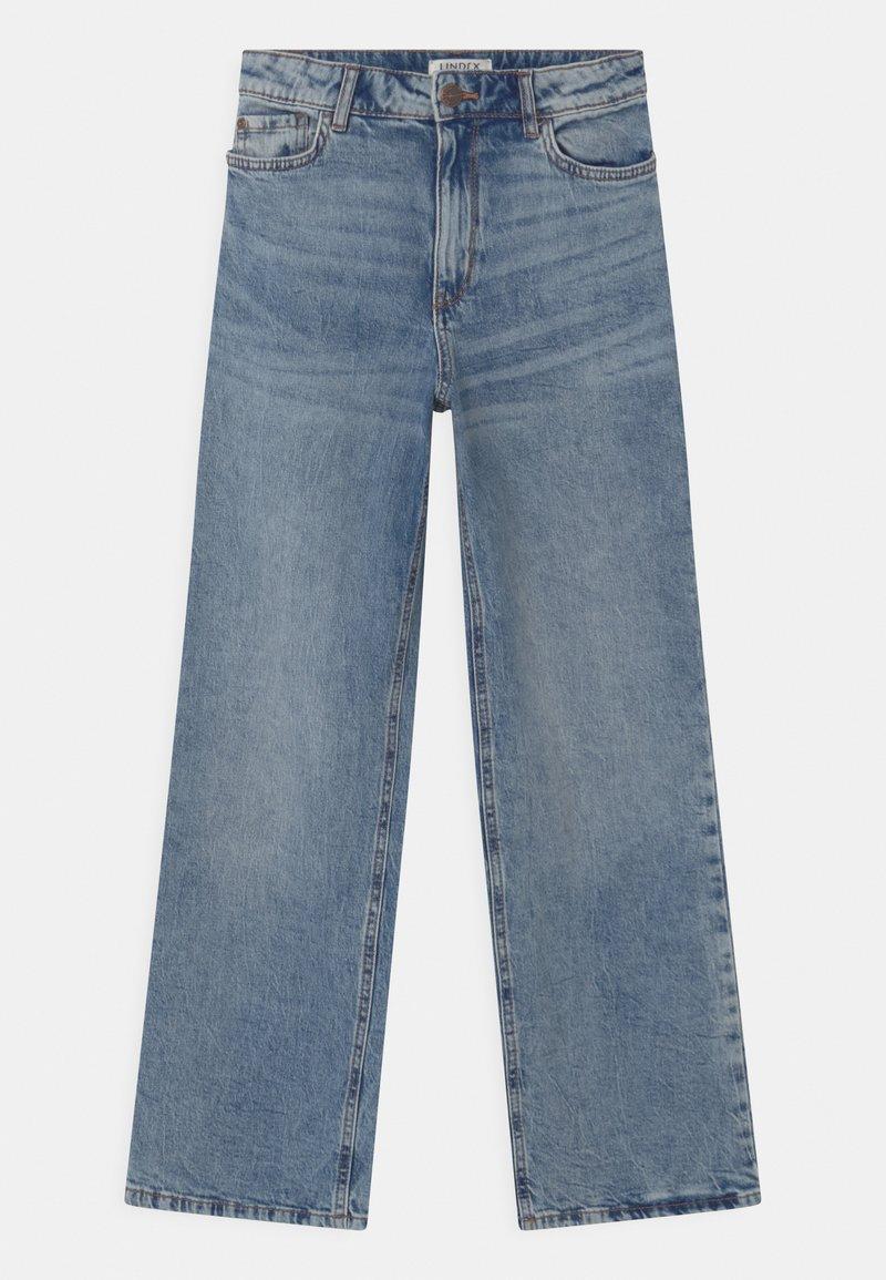 Lindex - TROUSERS LALEH - Bootcut jeans - blue denim