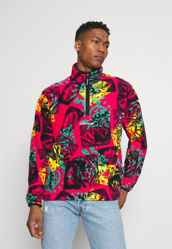 Fleece jumper - multicolor