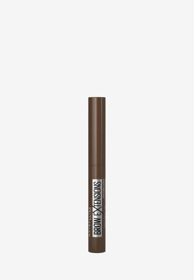 Maybelline New York - BROW EXTENSIONS - Eyebrow pencil - 5 medium brown