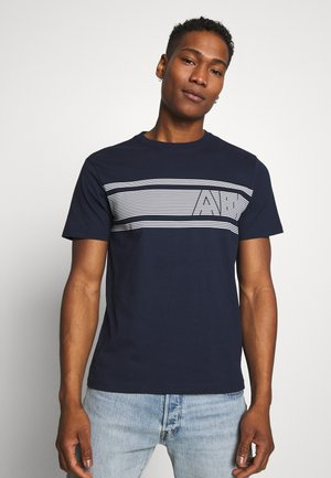 CHEST - Print T-shirt - navy