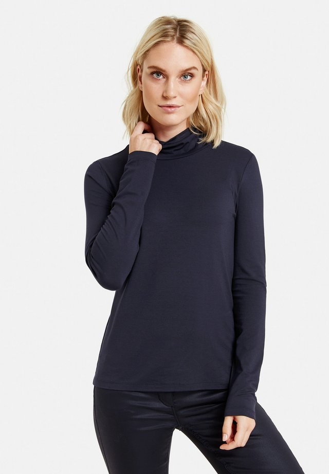 Long sleeved top - navy