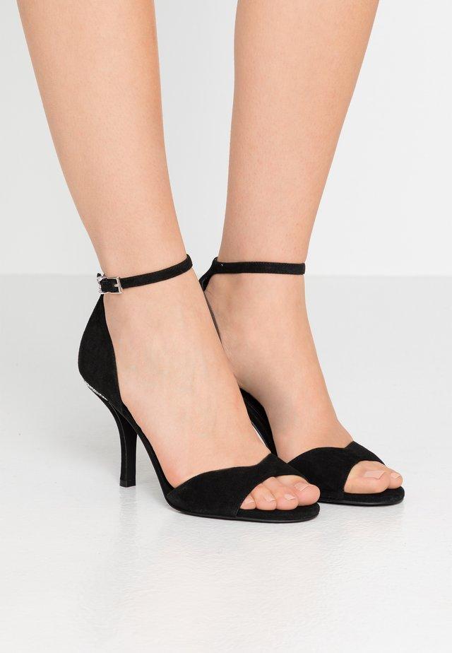 MALINDA - High Heel Sandalette - black