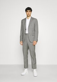 Calvin Klein Tailored - PRINCE OF WALES SUIT - Suit - grey - 3