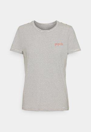 STRIPED - Print T-shirt - offwhite