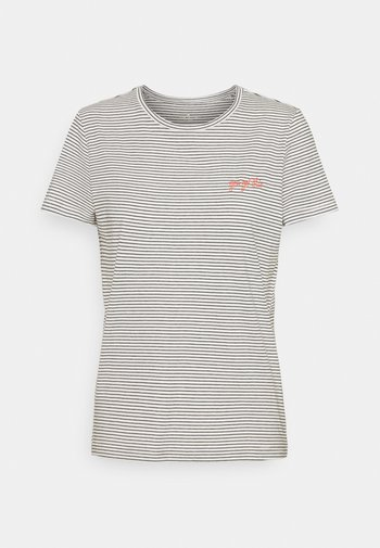 STRIPED - T-shirts med print - offwhite
