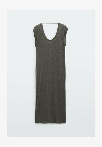 FLIESSENDES - Jersey dress - grey