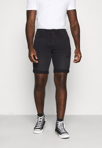 Only & Sons - ONSPLY  - Jeansshorts - black denim - 0