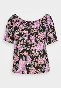 Fashion Union Plus - PANCAKE - Blouse - black - 3