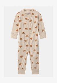 Lindex - TEDDY AT BACK UNISEX - Pyjamas - light beige - 0