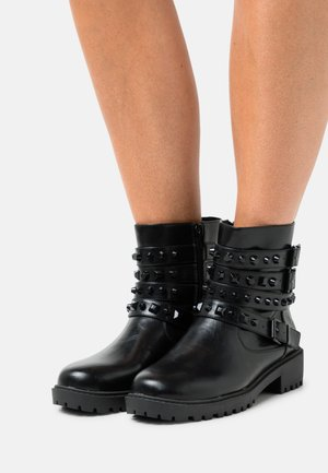 ZOMEA - Kovbojské/motorkářské boty - noir