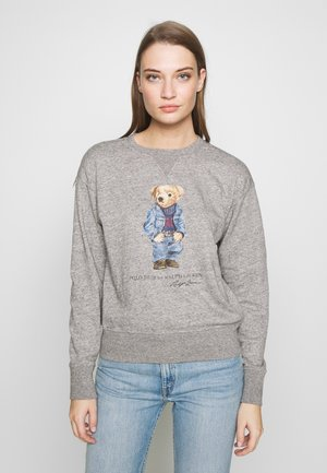 BEAR LONG SLEEVE - Bluza - dark vintage heat