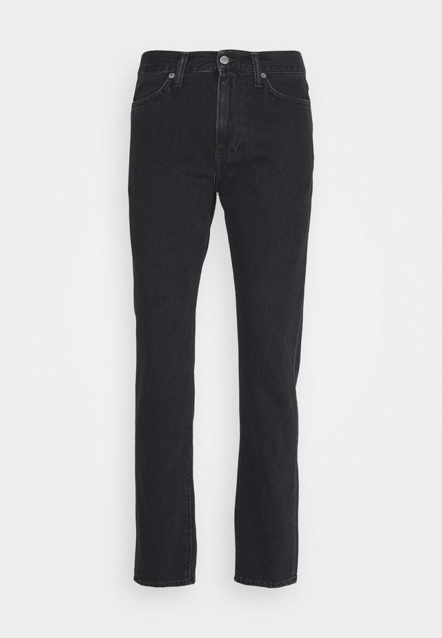 ZAKAI PANT - Straight leg jeans - mid stone kingston black denim