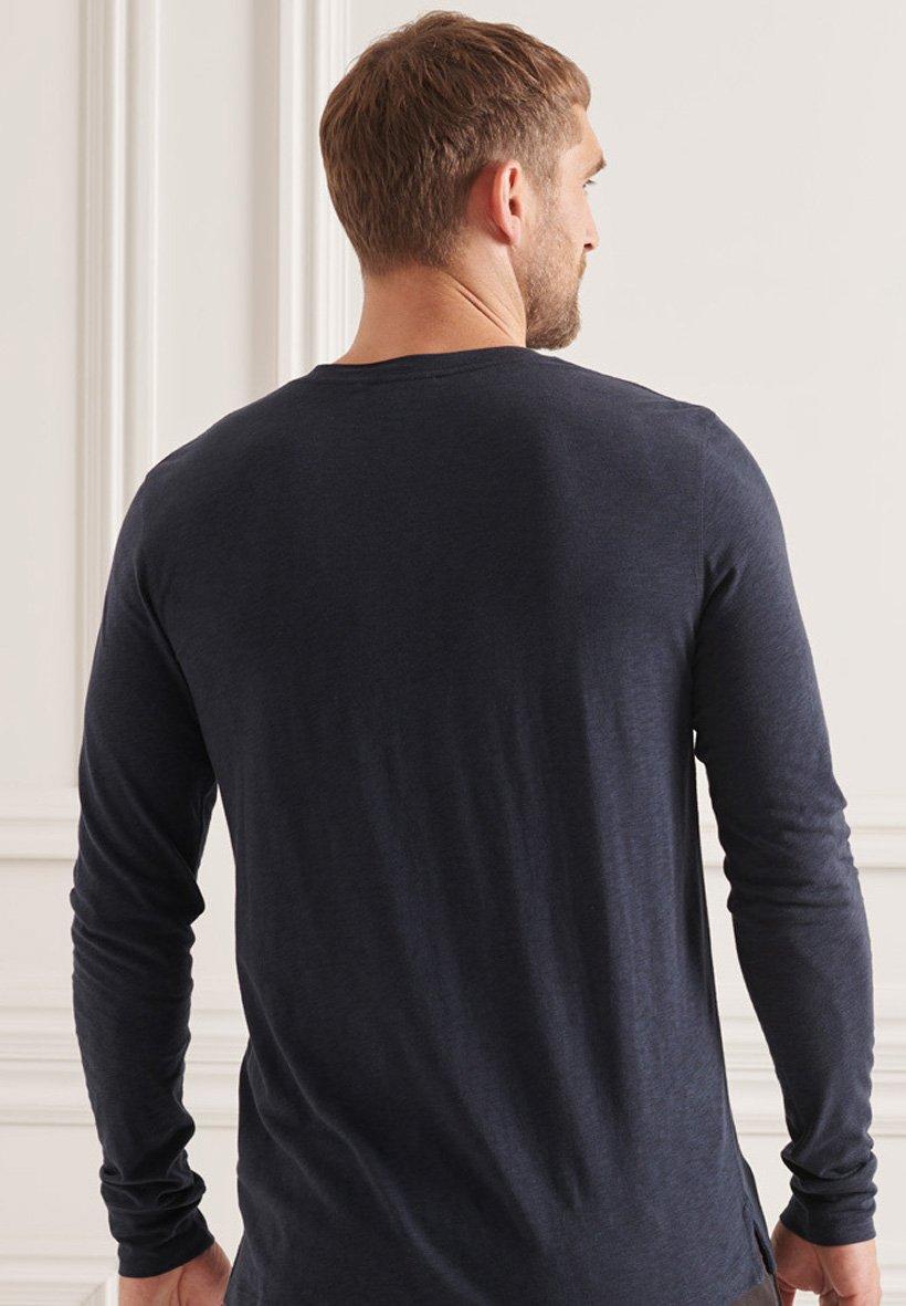 Men STUDIOS SLUB HENLEY  - Long sleeved top