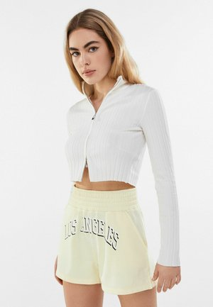 MIT PRINT  - Shorts - yellow