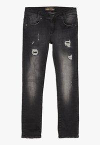 Blue Effect - BOYS - Jeans Skinny Fit - black medium - 0