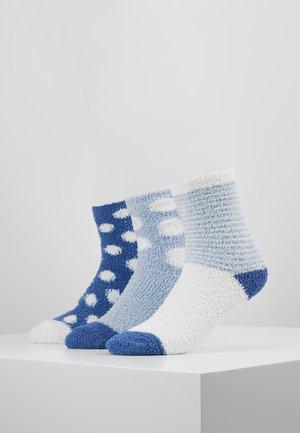 3 PACK - Ponožky - blue