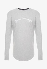 Gianni Kavanagh - CALLIGRAPHY LONG SLEEVE  - Long sleeved top - grey - 3