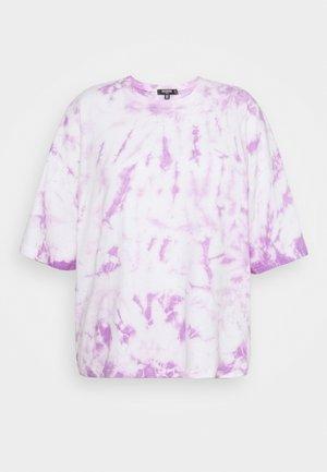 PASTEL TIE DYE SET - Print T-shirt - lilac