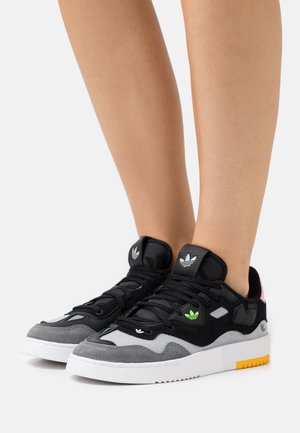SUPERCOURT STYLE  - Trainers - core black/footwear white/true pink