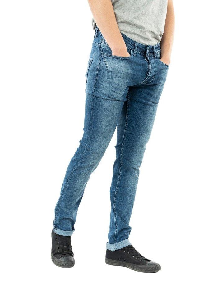 HAMAST - Jean slim - bleu