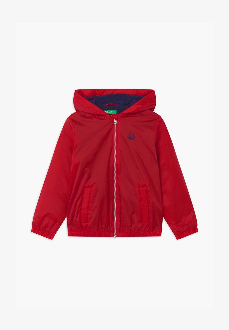 Benetton - BASIC BOY - Light jacket - red