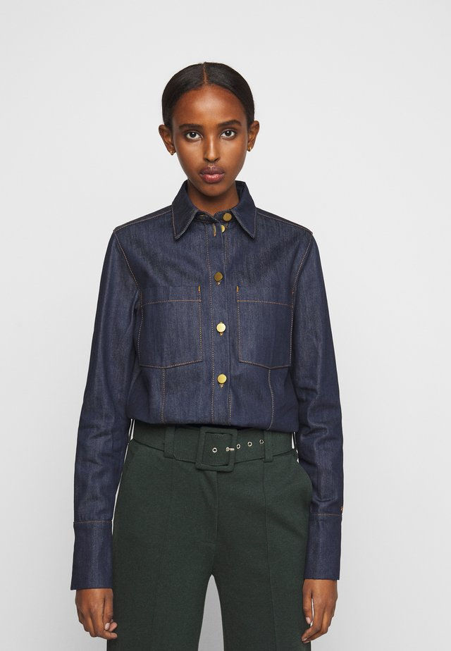 CLASSIC - Button-down blouse - dark blue