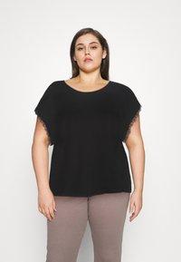 Anna Field Curvy - T-shirts med print - black - 0