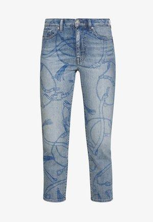Jeans Skinny Fit - worn indigo wash