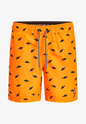 Swimming shorts - bright orange