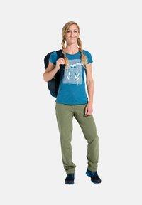 Vaude - Print T-shirt - kingfisher uni - 0