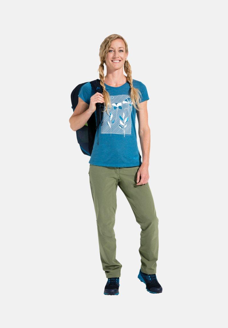 Vaude - Print T-shirt - kingfisher uni
