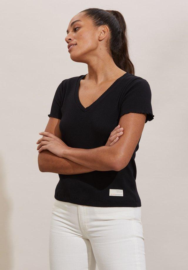 T-shirt basic - almost black