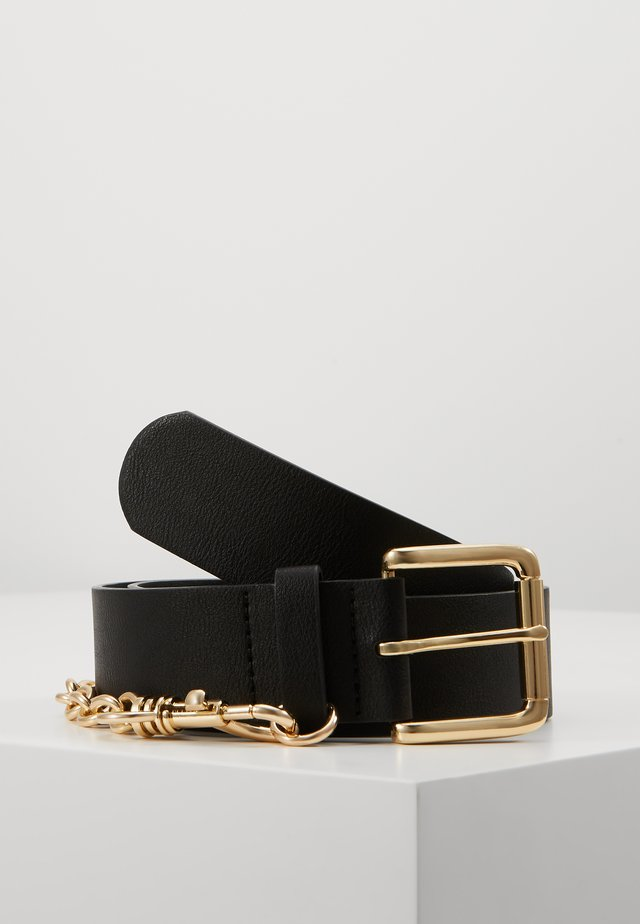 PCMAJE WAIST BELT - Vyö - black/gold-coloured