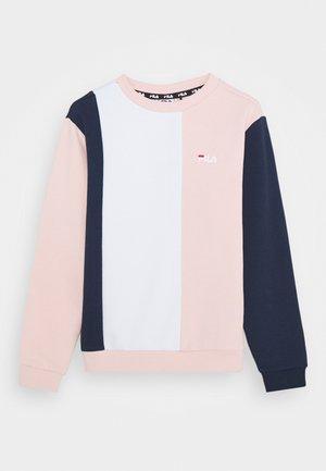 TULIA - Sweater - english rose/black iris/bright white