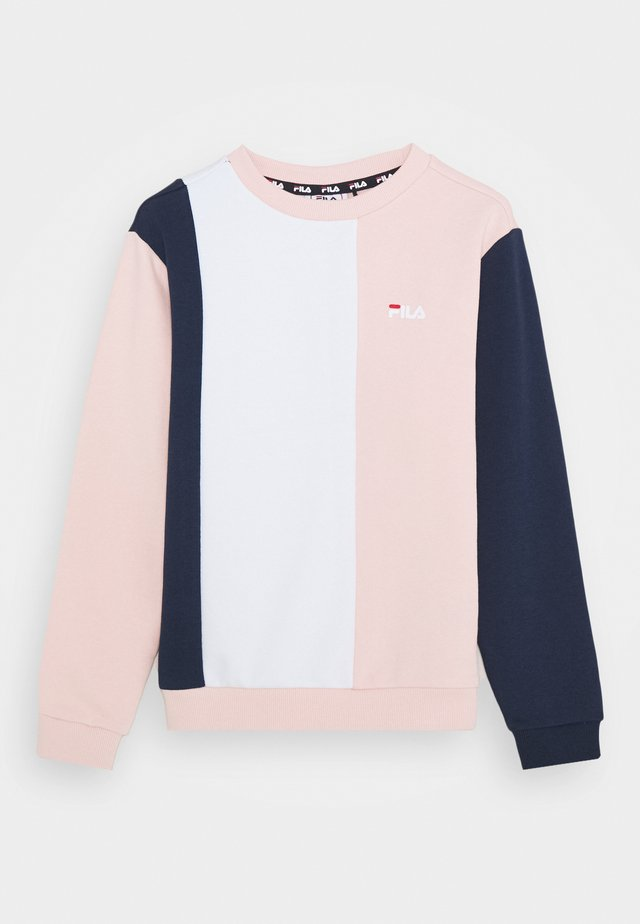 TULIA - Sweatshirt - english rose/black iris/bright white