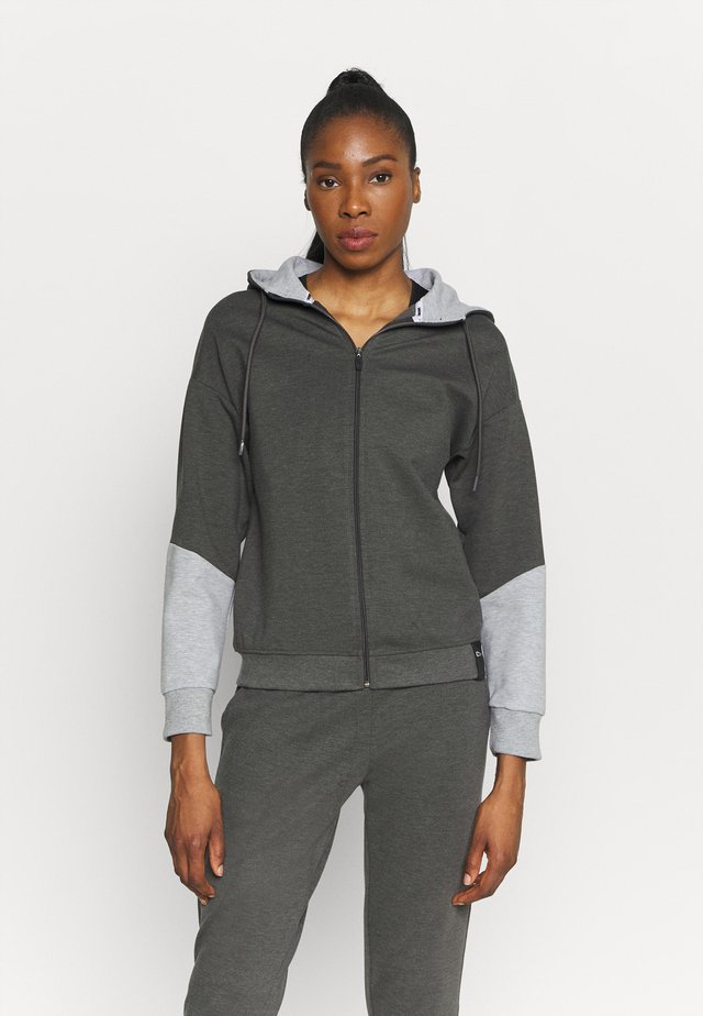 JOGGINGSUIT SET - Tuta - grau