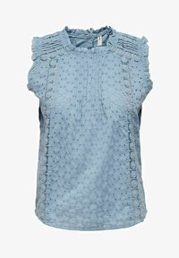 ONLY - Blus - faded denim - 3