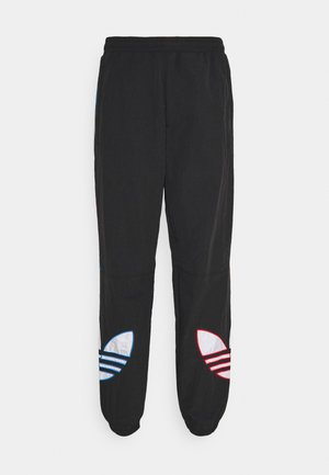 TRICOL UNISEX - Tracksuit bottoms - black