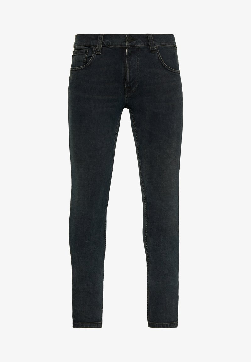 Nudie Jeans - TIGHT TERRY UNISEX - Džíny Relaxed Fit - black balance