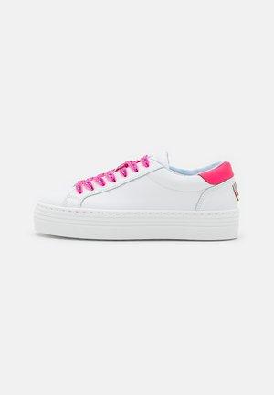 EYESTAR  - Trainers - white/pink fluo