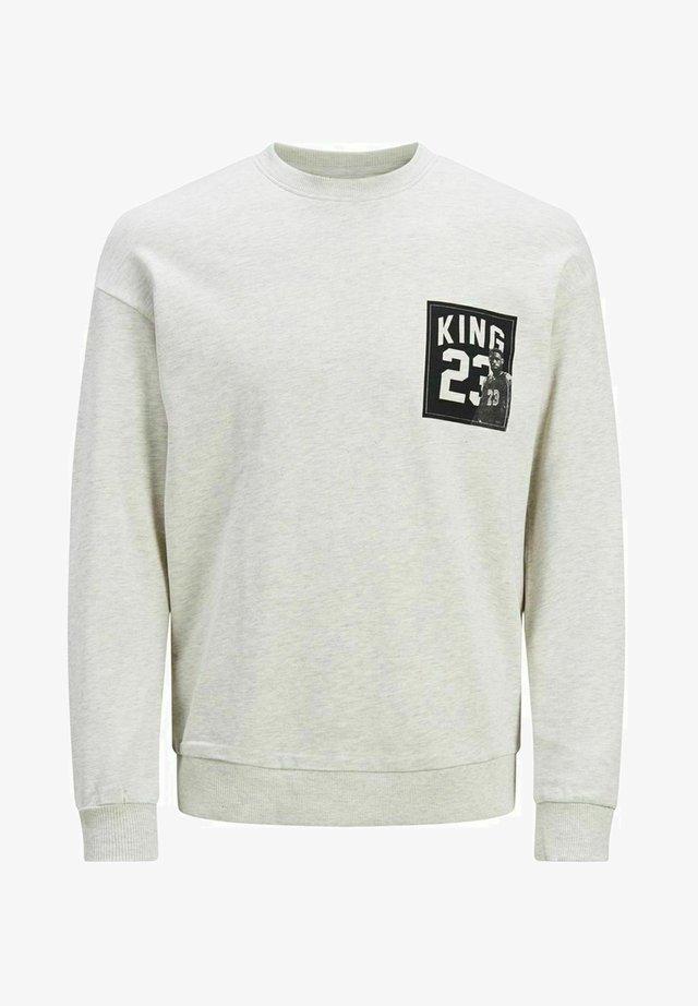 LEGENDS - Stickad tröja - white melange