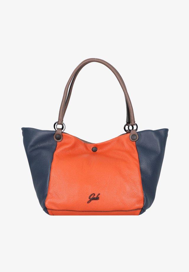 VIOLA  - Tote bag - cortex-tangerine-night blue